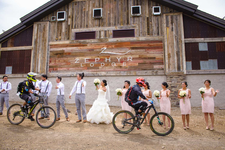 Lake Tahoe Ski Resort Wedding