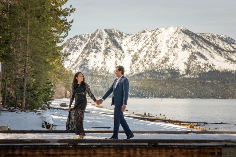Lake Tahoe Wedding Photographers: © Blue Lotus Photography