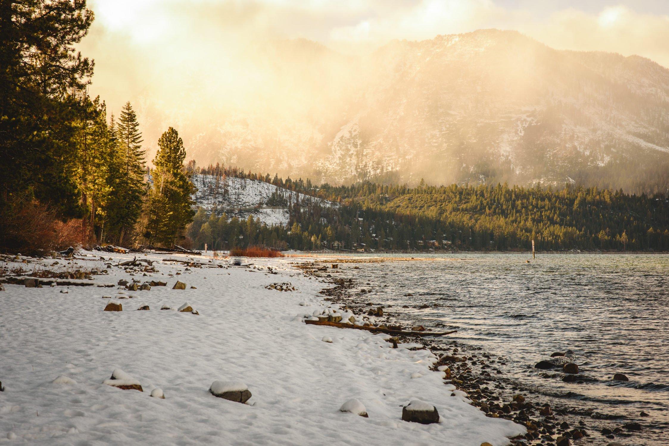 Lake Tahoe Winter Photos
