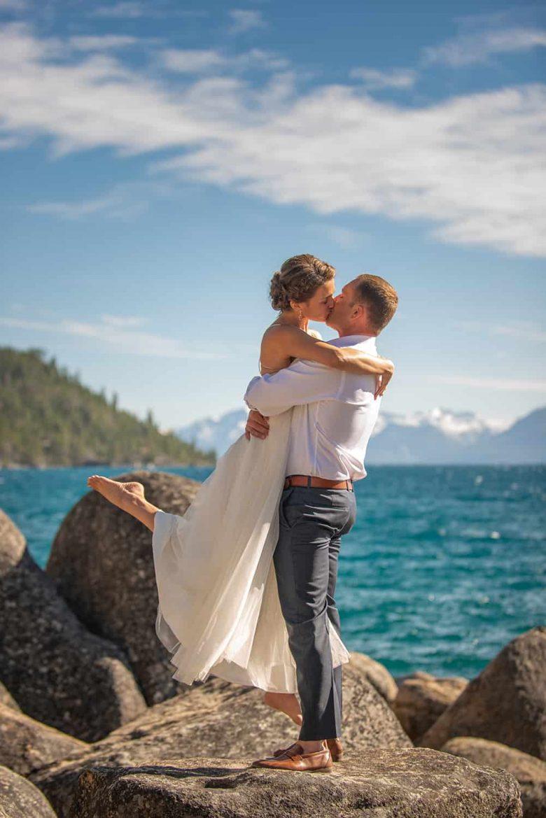 Lake Tahoe Elopement Photographer