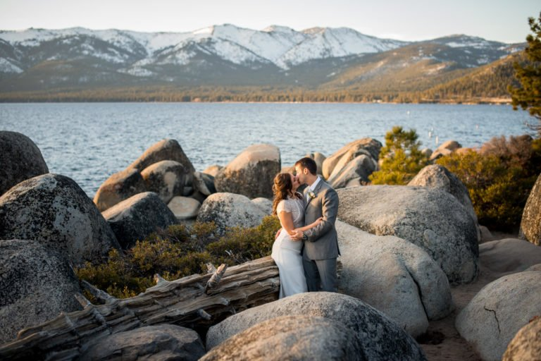 Lake Tahoe Sand Harbor Elopement