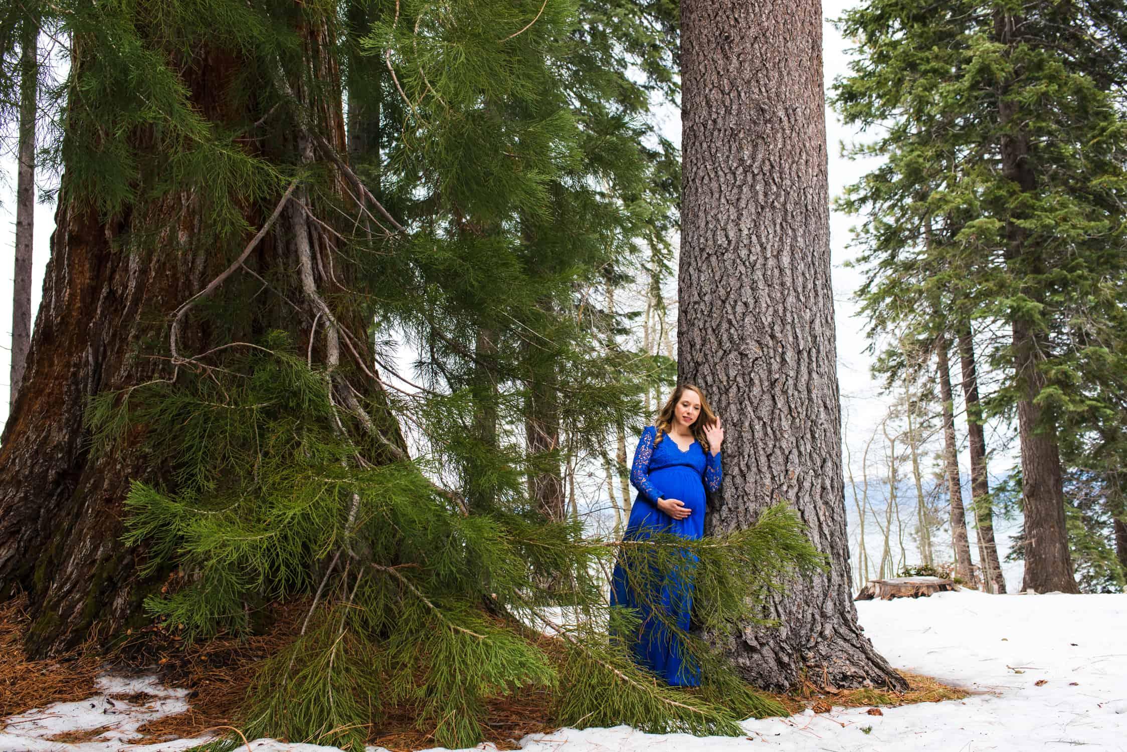 Lake Tahoe Maternity Photographer