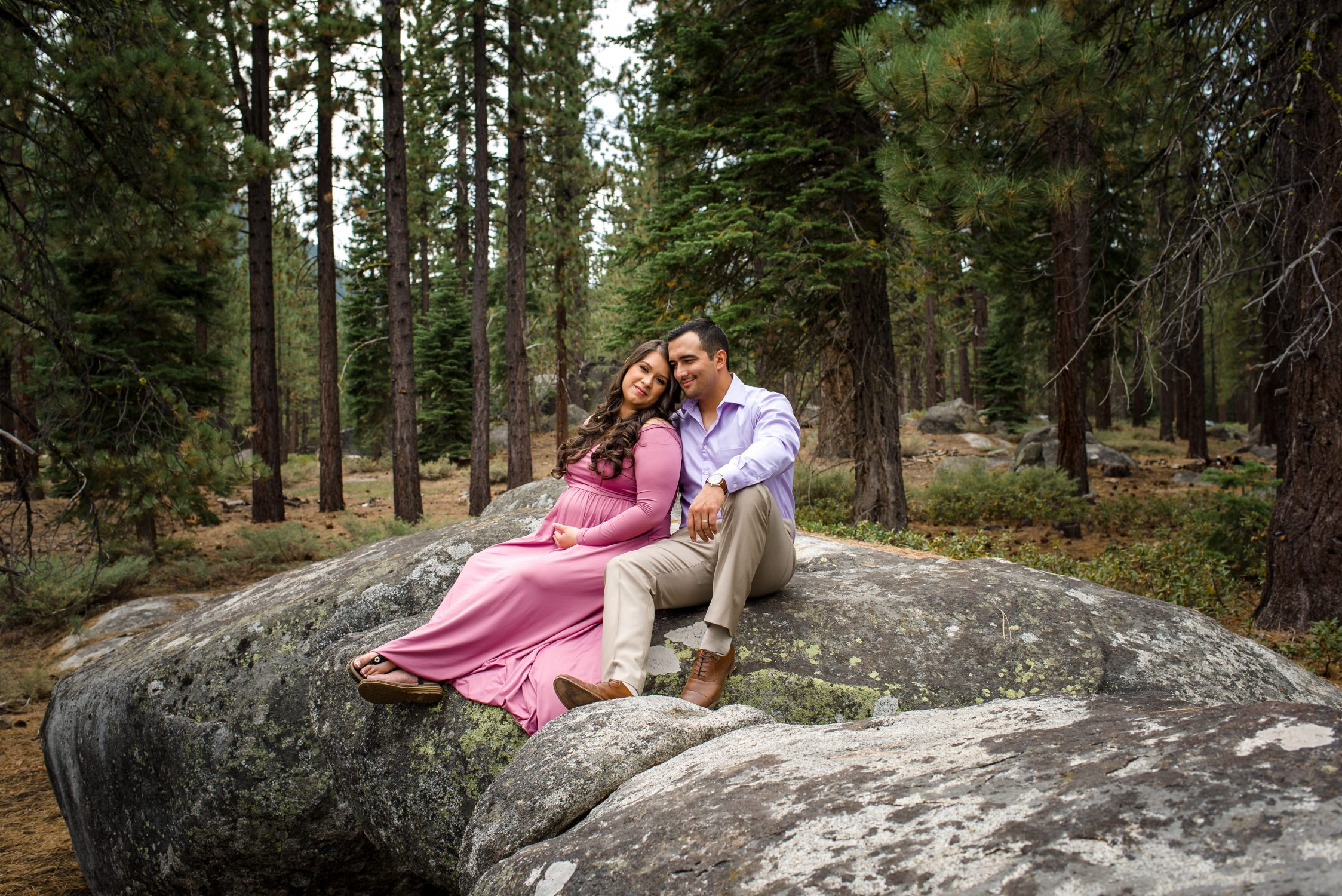 Forest Maternity Session